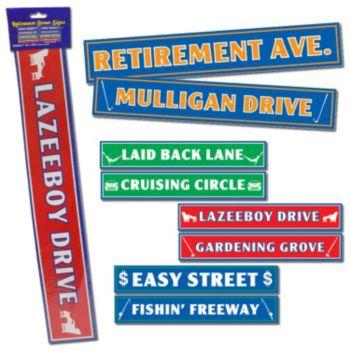 Retirement Sign Cutouts