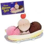 Ice Cream Banana Split Decoration