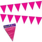 Pink Pennant Banner Decoration