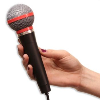 "Plastic 10"" Microphone"