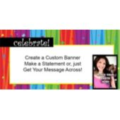 Rainbow Celebration Custom Photo Banner
