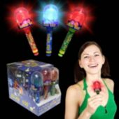 "Flashing LED Blink 5"" Candy Pop - 12 Pack"
