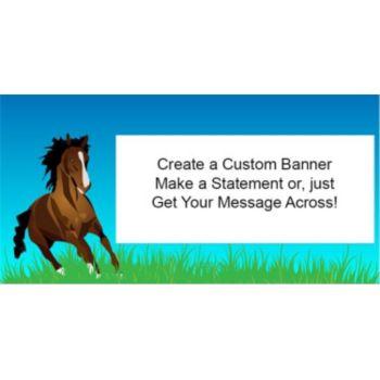 Horse Lover Custom Banner