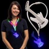 LED Guitar Lanyard Necklace