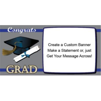 Congrats to the Grad Custom Banner