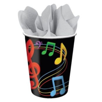 Musical Memories  9 oz Cups