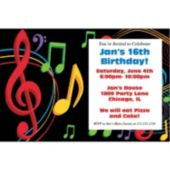 Musical Memories Personalized Invitations