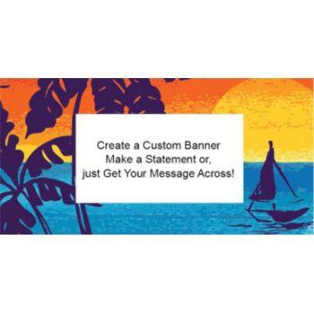 Aloha Summer Custom Banner