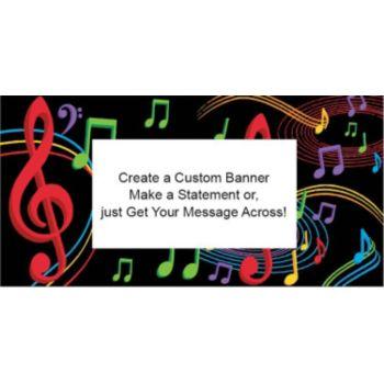 Musical Memories Cutom Banner