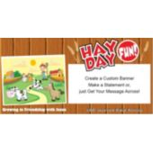 Vbs Hay Day Fun - Custom Banner