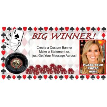 Big Winner Custom Photo Banner