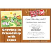 Vbs Hay Day Fun Personalized Invitations