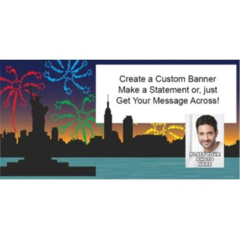 Let Freedom Ring Custom Photo Banner