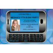 Send A Text  Custom Photo Personalized Invitations