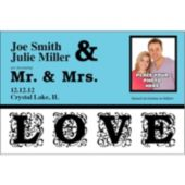 Just Love  Custom Photo  Personalized Invitations