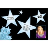 Star Shine  Custom Photo  Personalized Invitations