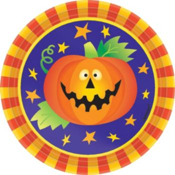 """Friendly Frights  7""""Plates"""