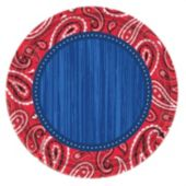 "Western Paisley 10 1/2"" Plates"
