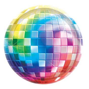 """Disco Fever  10 12"""" Plates"""