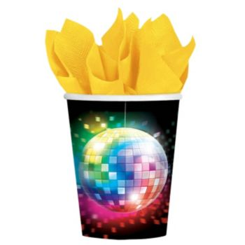 Disco Fever  9oz Cups