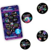 Disco Fever Button Pins- 10 Per Unit