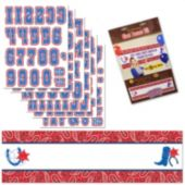 Western Bandana Giant Banner Kit