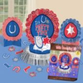 Western Bandana Centerpiece Kit