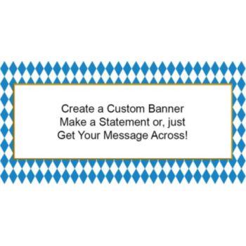 Oktoberfest Colors Custom Banner