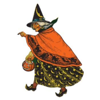 "Classic Witch  19"" Cutout"