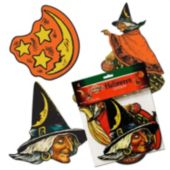 Classic Halloween Cutouts-4 Pack