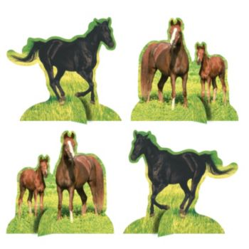 Horses Centerpiece Kit