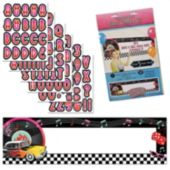 Back To the 50's Giant Banner Kit