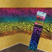 Rainbow Animal Print Room Roll