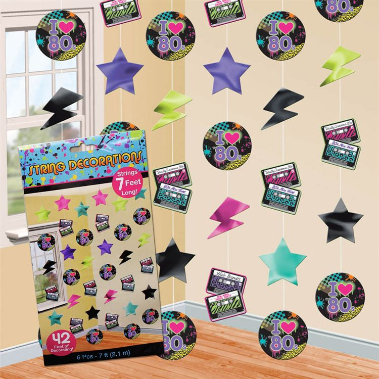 Totally 80 s party ideas windy city novelties for 90 s party decoration ideas