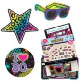 80's Awesome Cutout-30 Pack