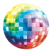Disco Fever Disco Ball Cutout