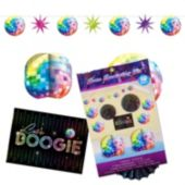 70's Disco Retro Room Decorating Kit