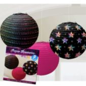 Disco Fever Paper Lanterns-3 Per Unit