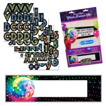Disco Fever  Giant Banner Kit