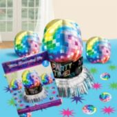 70's Disco Fever Centerpiece Kit