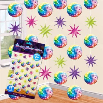 Disco Fever  String Decorations