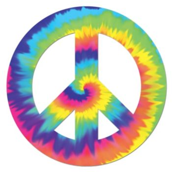 Feeling Groovy  Peace Sign Cutout