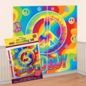 60's Groovy Wall Decorating Kit