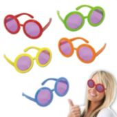 Round Retro Sunglasses-10 Pack