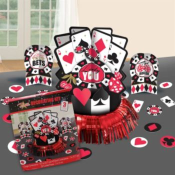 Casino Centerpiece Kit