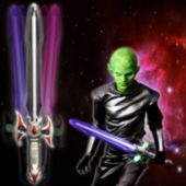 LED Space Sword With Sound - 24 Inch