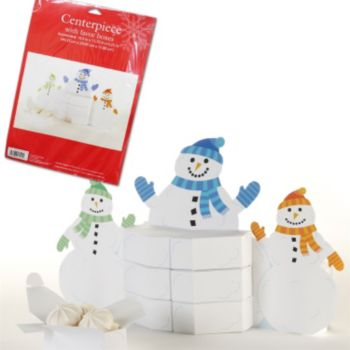 Snowman Favor  Box Centerpiece