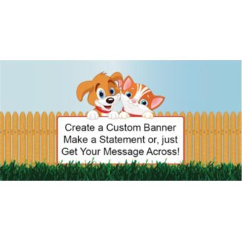 Playful Pets Custom Banner