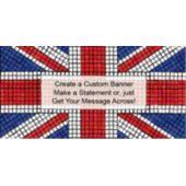 Union Jack Custom Banner