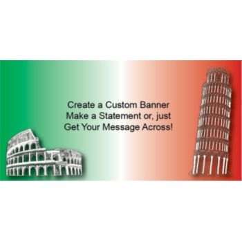 Italia Custom Banner